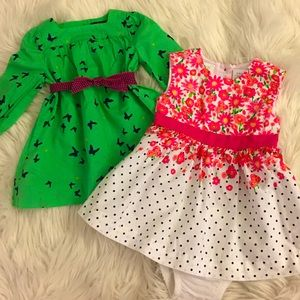 Baby Girl | 3-6 month | dress bundle (set of 2)